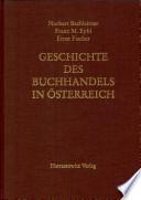 Geschichte des Buchhandels in Österreich