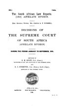 South African Law Reports  Appelate Division