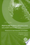 Pesticide Formulations and Delivery Systems