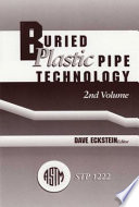 Buried Plastic Pipe Technology