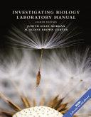 Investigating Biology Laboratory Manual
