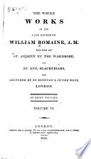 The Whole Works Of The Late Reverend William Romaine