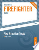 Master the Firefighter Exam  Five Practice Tests