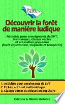 illustration du livre Découvrir la forêt de manière ludique