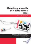 UF2394   Marketing y promoci  n en el punto de venta