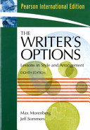 The Writer s Options