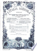 L Italia agricola giornale dedicato al miglioramento morale ed economico delle popolazioni rurali