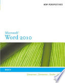 New Perspectives on Microsoft Word 2010  Brief