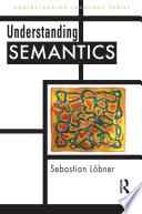 Understanding Semantics book