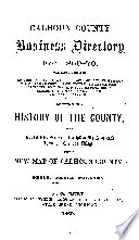History and Direction of Calhoun County