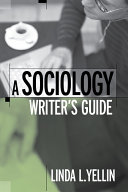 A Sociology Writer s Guide