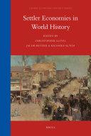 Settler Economies in World History