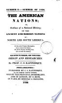The American Nations Or Outlines Of Their General History Ancient And Modern
