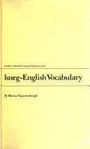 Isneg English Vocabulary