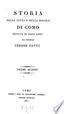 Storia della citta e della diocesi di Como esposta in dieci libri