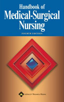 Handbook of Medical Surgical Nursing