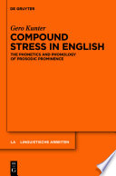 Compound Stress in English