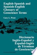 English Spanish and Spanish English Glossary of Geoscience Terms