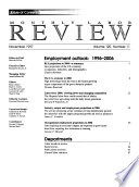 Monthly Labor Review Book PDF