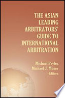 Asian Leading Arbitrators  Guide to International Arbitration