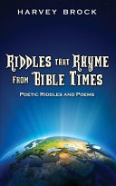 Riddles That Rhyme from Bible Times