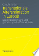 Transnationale Altersmigration in Europa