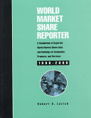 World Market Share Reporter book