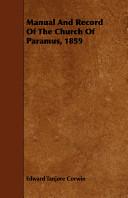 Manual and Record of the Church of Paramus, 1859