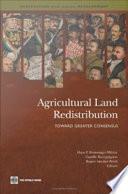 Agricultural Land Redistribution