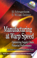 Manufacturing at Warp Speed Book PDF