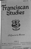 Franciscan Studies