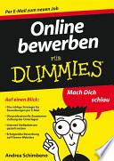 Online bewerben f  r Dummies