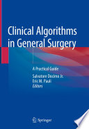 Clinical Algorithms In General Surgery