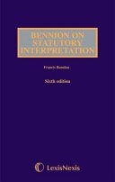 Bennion on Statutory Interpretation