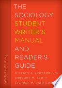 The Sociology Student Writer S Manual And Reader S Guide