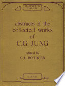 Abstracts of the Collected Works of C G  Jung