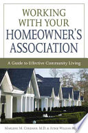 Working with Your Homeowners Association