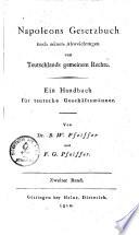 Napoleons Gesetzbuch