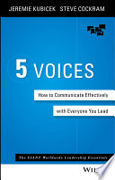 5 voices : find your voice, build your team and change your world
