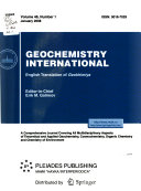 Book Geochemistry International