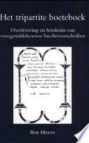 Het Tripartite Boeteboek