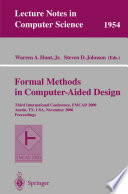 Formal Methods in Computer Aided Design