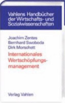 Internationales Wertschöpfungsmanagement