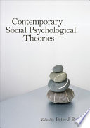 Contemporary Social Psychological Theories