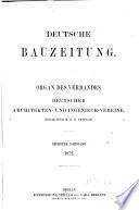 Deutsche Bauzeitung Berlin