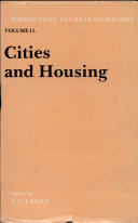 Cities and Housing