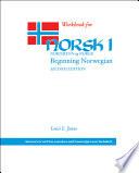 Workbook for Norsk  Nordmenn Og Norge 1
