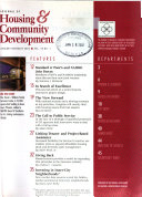 The Journal of Housing and Community Development