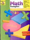 Math activities sampler