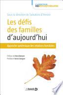 illustration du livre Les défis des familles d'aujourd'hui